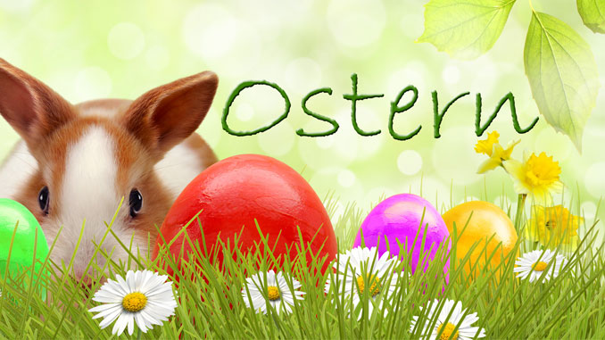 Ostern in Zahlen - © K.-U. Häßler