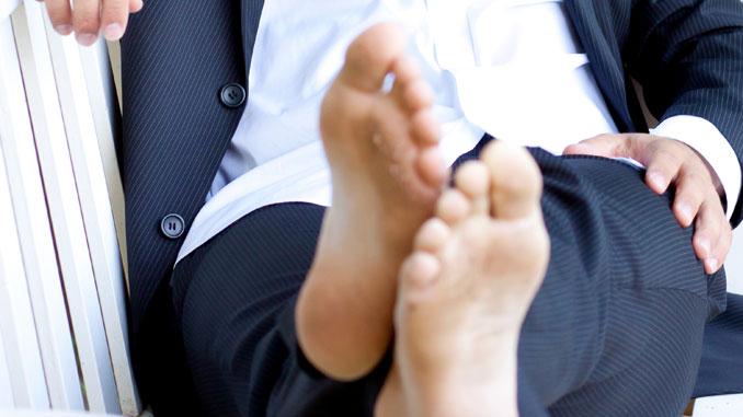 Wenn Füße stressen - © Martina Fenske - Fotolia